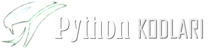 Python Kodları